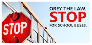 stop for school buses graphic
